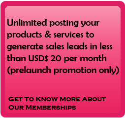 sign up and generate sales leads